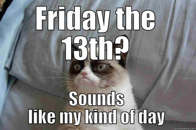 Angry cat-Friday 13th