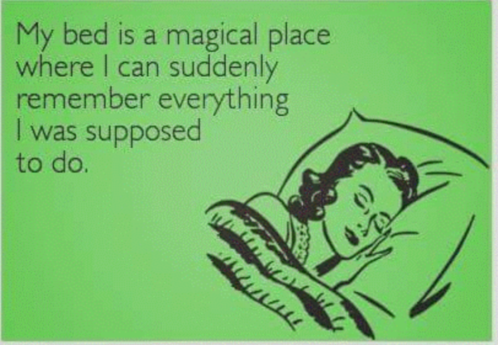 Bed-magical place