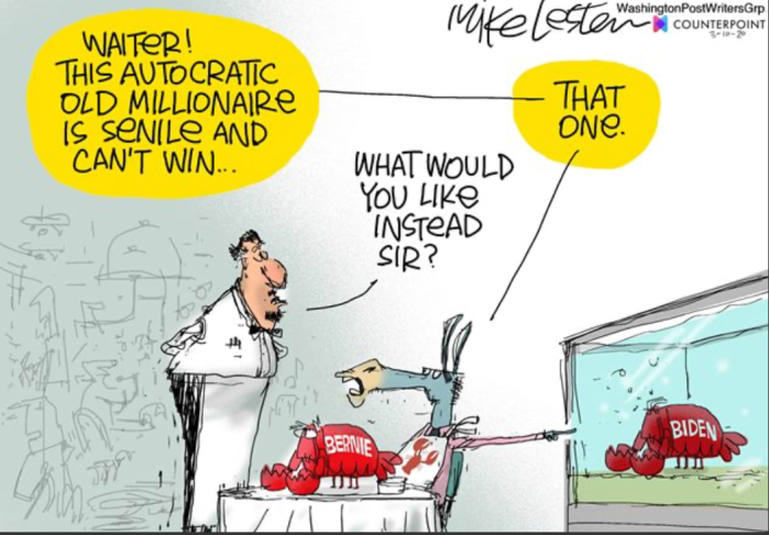 Bernie-Biden-Lobsters