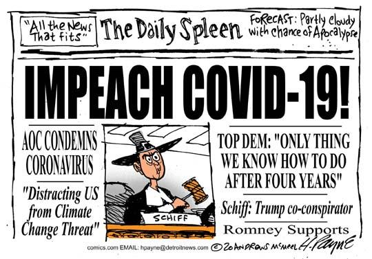 Corona Daily Spleen