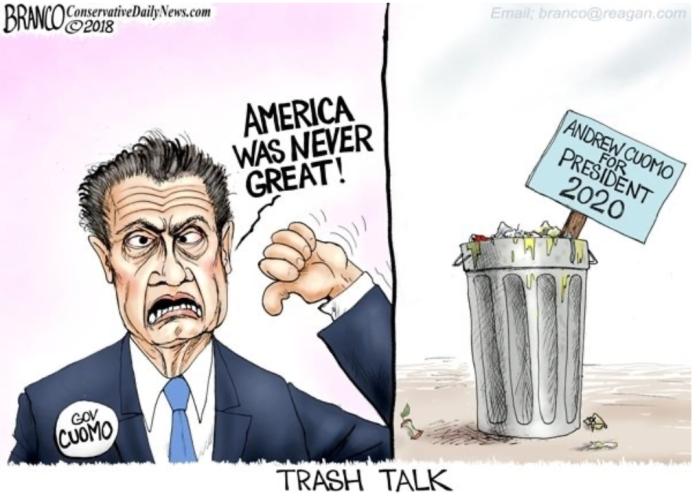 Cuomo-trash talk