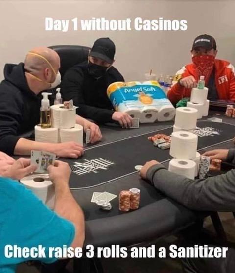 Day 1 w:o Casinos