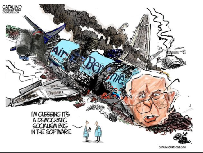 Fidel Sanders crashes and burns