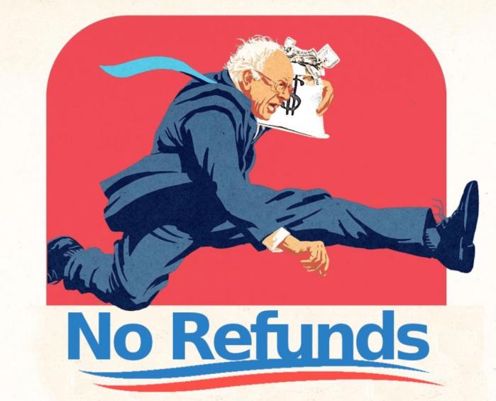 Fidel Sanders-no refunds