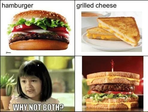 hamburger-grilled-cheese
