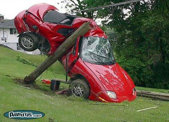 How was your Monday-red car on pole