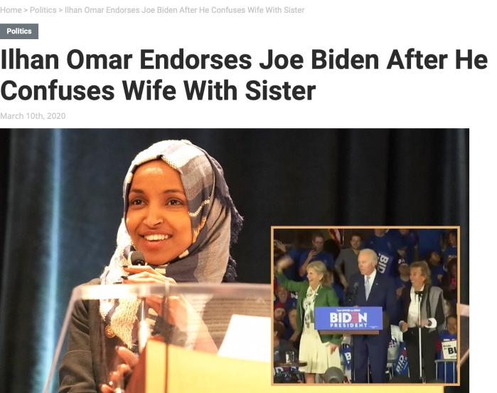 Ilhan Omar endorese Quid Pro Joe