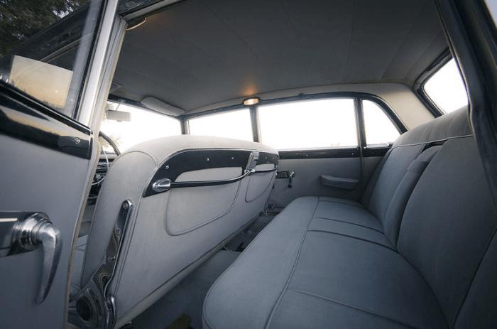Lancia Flaminia Berlina-interior