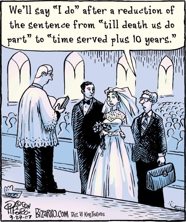 Lawyer Joke-wedding-time served