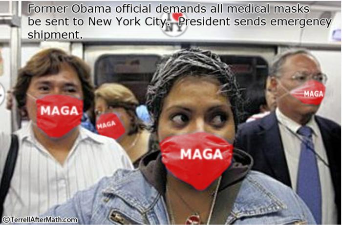 MAGA Masks for Noo Yawk