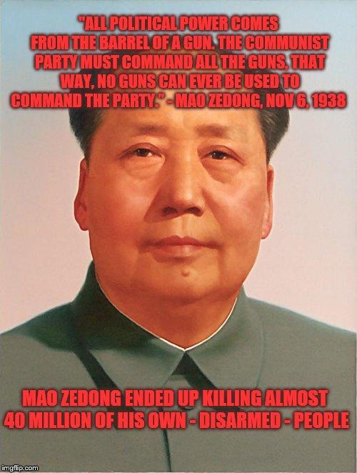 Mao-Gun Control