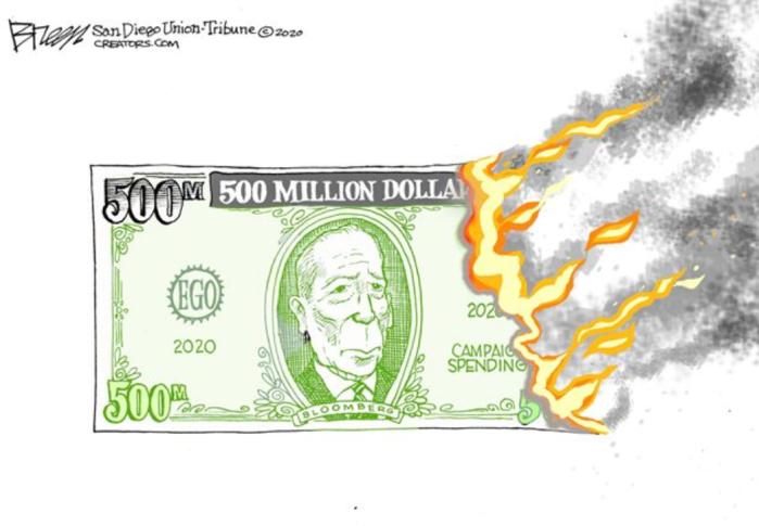 Mini-Mike burns $550 million