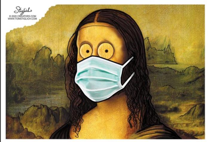 Mona Lisa Mask