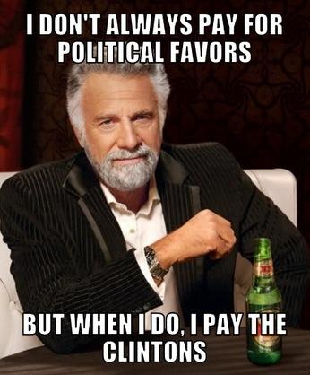 Political Favors-Clintons