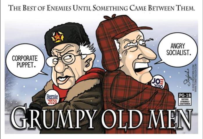 Quid Pro Joe-Fidel Sanders Grumpy Old Men