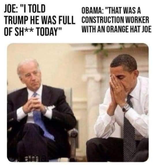 Quid Pro Joe-Orange hat