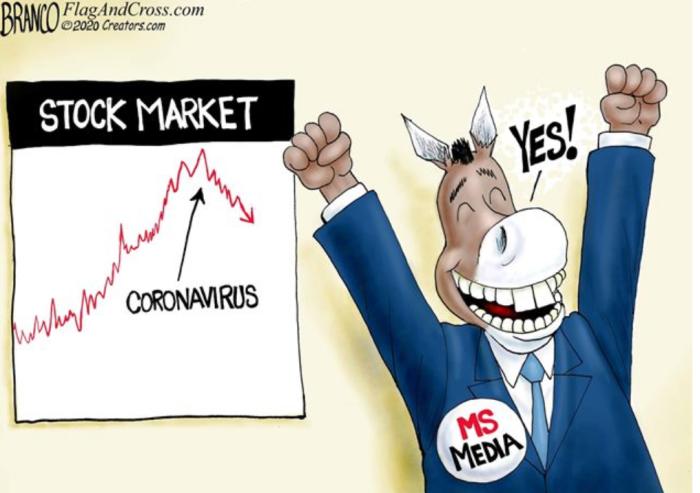 'RATs cheer stock market decline