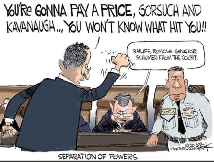 Schmuck thraatens Supreme Court