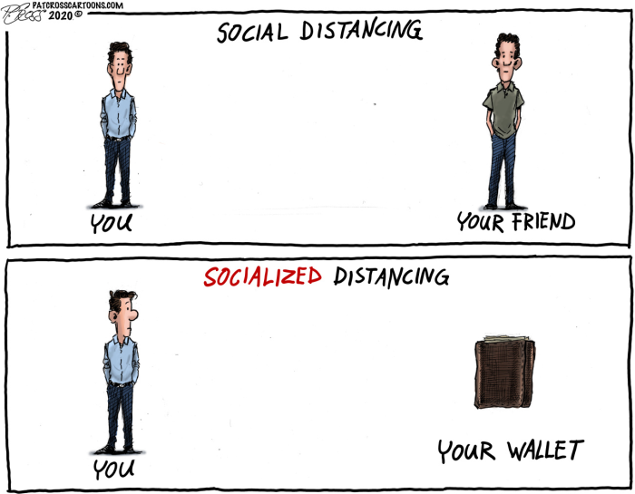 Social Distancing-Socilalized Distancing