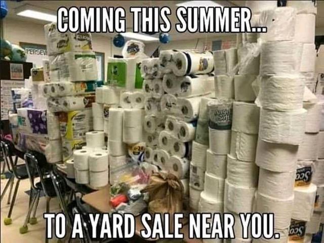 TP yard sales