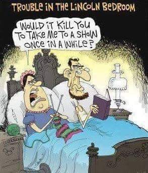 Trouble in the Lincoln bedroom