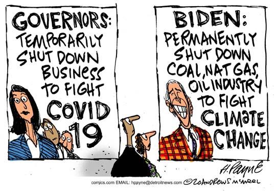 Biden Shutdown Warming