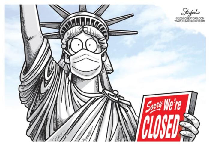 Closed Liberty