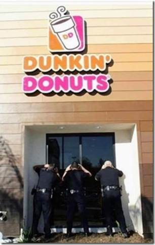 cops-Dunkin' Donuts