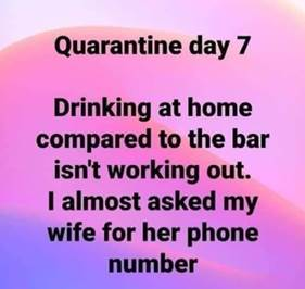 Day 7-ask wife for phone number