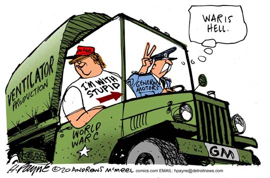 GM vs Trump Corona