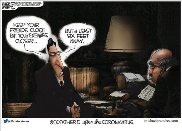 Godfather after coronavirus
