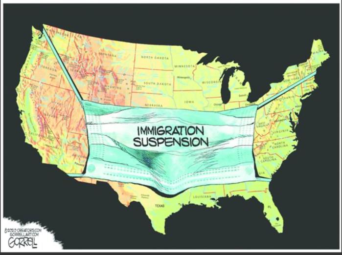 Immigration suspension
