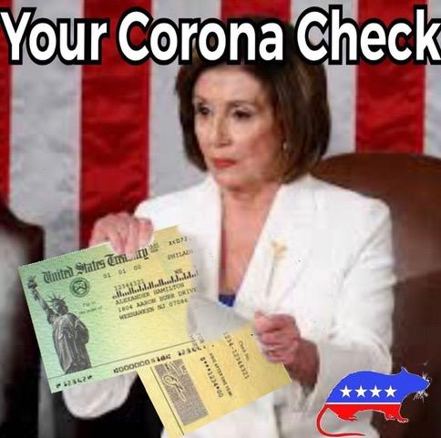 Nasty P. Lousy_Corona check