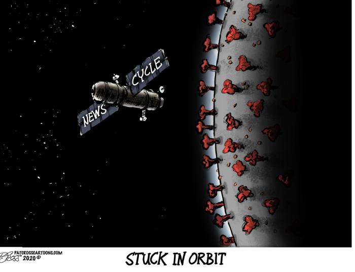 News Cycle-stuck in orbit