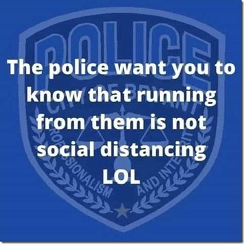 Police and social Distancing