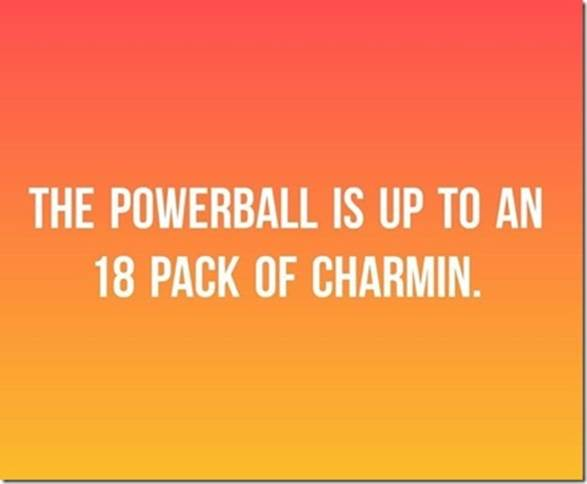 Powerball-18 pk of Charmin