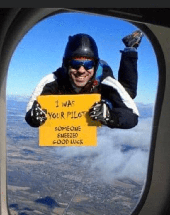 This is your pilot