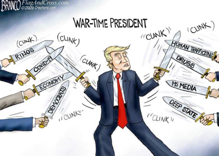 Trump-War Time President