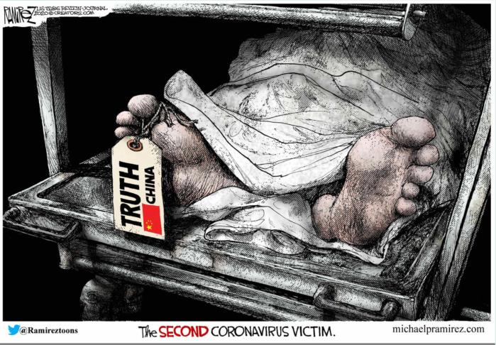 Truth-Chinese coronavirus victim